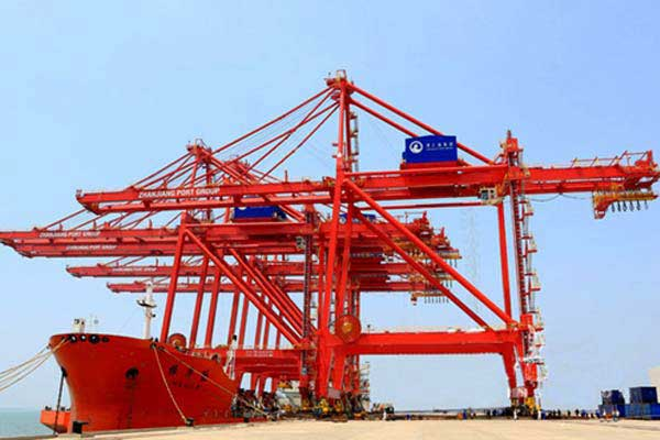 Dockside Container Crane