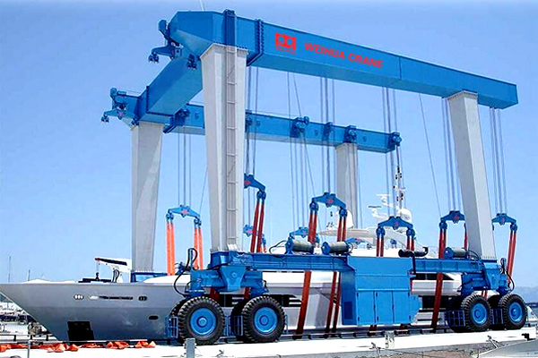Boat and Yacht Handling Crane