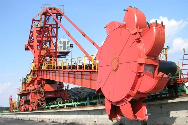 Cantilever Bucket-wheel Stacker Reclaimer