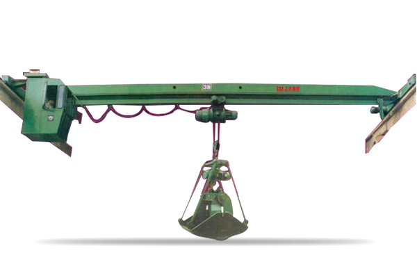 Single Girder Overhead Crane with Grab