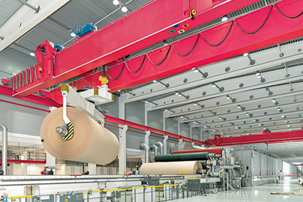 Double Girder Overhead Crane for Paper Making