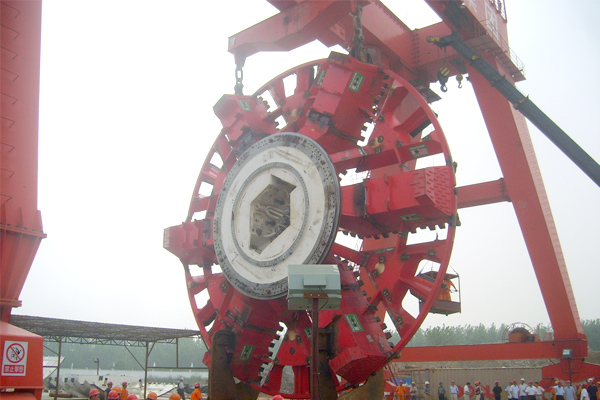 Shield Tunneling Crane