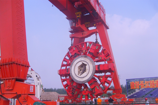 Shield-Tunneling-Crane