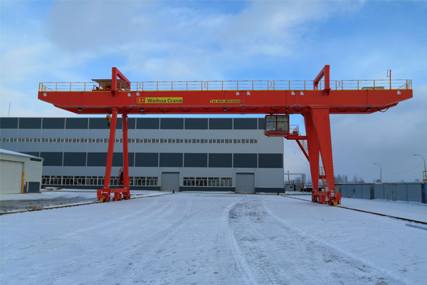 32t Gantry Crane for Russia