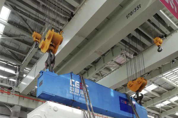 Motor Stator Handling Crane 170t 80m for Power Plant