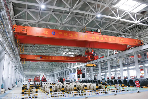 Intelligent Electromagnetic Crane Handling Steel Bars at Unmanned Plant