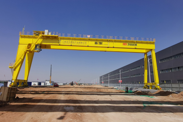 Gantry Crane for Steel Structure Bridge Production